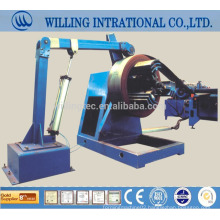 2014 hot sale Automatic steel manual uncoiling coil machine for color steel sheet