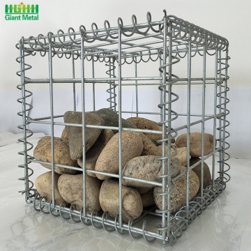 Galvanised Welded Stone 벽 Gabion Box를 지탱하는 석재