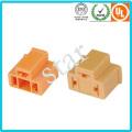 Alta qualidade luz elétrica 3 pinos macho conector fêmea