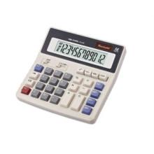 Calculatrice scientifique de bureau à gros boutons de 12 chiffres