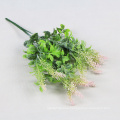 decorative green ornamental artificial plant foliage for hedge with SGS