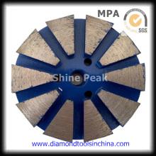 Metal Diamond Polishing Pad for Marble Granite Stone Floor