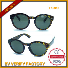 Trendy Women Sunglasses with Round Frame (F15183)
