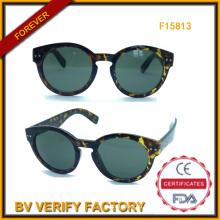 Модные женщины солнцезащитные очки с круглой рамой (F15183)