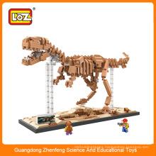 22016 Best hot selling kids assemble building blocks educational toy dinosaur