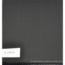 Polyester & Wool Plaid Check wool cashmere suit fabric designer fabric