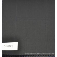 Poliéster & lã xadrez Verifique lã cashmere terno tecido designer de tecido