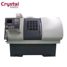 machine de tour de commande numérique par ordinateur de configuration facultative pour l'usinage de la coupe en métal en acier CK6432A * 700