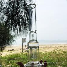 Three Layers of Purgatory Design Glass Smoking Water Pipes (ES-GB-273)