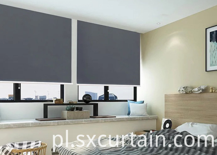 Roller Blind Curtain Shade Plain