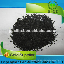 Borehole water treatment apricot shell activated carbon for odor removal