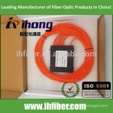 High quality 1*8 Multimode FBT fiber Optical splitter SC ST FC Connector OM1/OM2/OM3