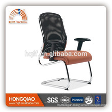 CV-F104BS-1 black/orange visitor chair adjustable arms office chair high back modern visitor chair