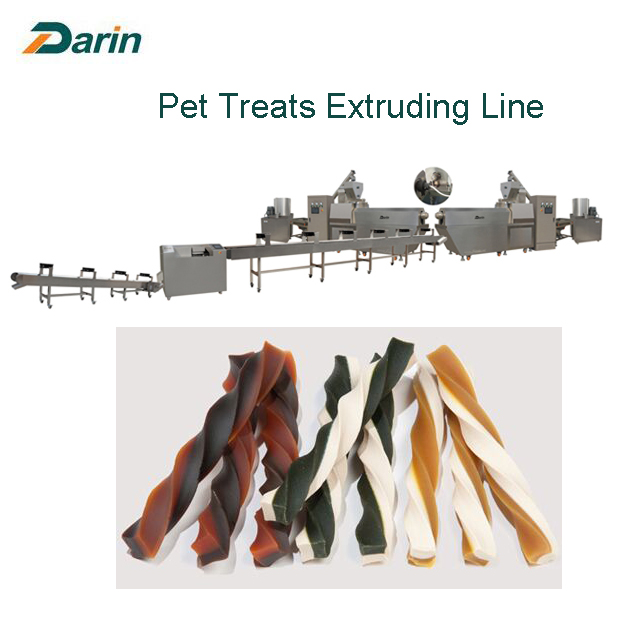 08 Two layer Twist Dog Treats Line