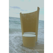 Patio Wicker Bed Beach Lounge Design Modern