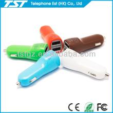 USB en cargador de coche CE RoHS para iPhone 5 y Smart Phone