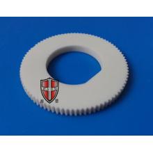 alumina ceramic gear knob flange precision machining parts