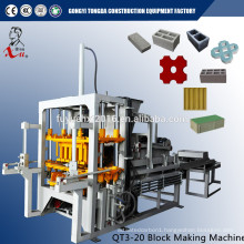 Full Auto Concrete Block Making Machine With Special Steel Mold From Factory