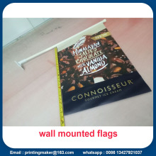 Wall Flag Signs with full Colour Digital Printing