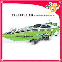 DARTER KING Boat 1:12 Scale High Speed RC Boat 2.4GHZ RC Speed Boat