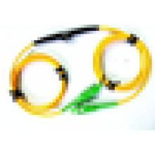 Fabricant SC / LC / ST / FC / MU / E2000 Atténuateur variable en ligne VOA en ligne, atténuateur à fibre optique 0-30dB
