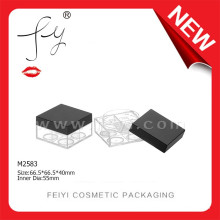 Stereo Square Cosmetic Makeup Case Cosmetic Packaging Loose Powder