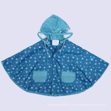 Prix à bas prix Custom Printed Waterproof Rain Ponchos