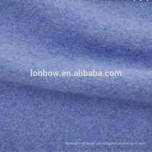 hellblaue Wolle Viskose Seide Twilled Wollstoff für Damen Mäntel