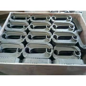 Caillebotis de barre d'acier dentelée de pièces de bâti de chaudière de puissance