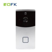 Глазок дверной звонок беспроводной Wi-Fi батарея Поддержка камеры SD-карта