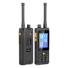 Blackview UNIWA P5 3'' IP68 Waterproof 4G LTE POC Zello Android Two Way Radio with NFC UHF DMR Analog Walkie Talkie Mobile Phone