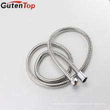 Tuyau flexible en métal flexible d'eau chaude de tuyau d'acier inoxydable de GutenTop de haute qualité avec le connecteur