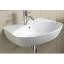Sanitary Wares Ceramic Wall Hung Bathroom Basin (1072)