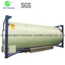 Liquid Chlorine Filling Medium Cryogenic Tank Container