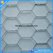 caja de gaviones / malla de alambre hexagonal / gallinero malla de alambre hexagonal