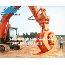 Alta capacidad de trabajo de la excavadora eficiente para la arena de carbón de acero de registro