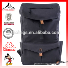 Hot Trend Backpack High School Student Backpack Concrete Canvas Bag