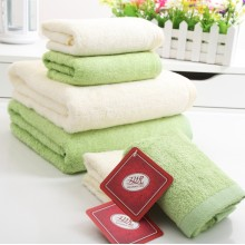 Good Quality Face Towel&Bath Towel for Adults (Green 70*150cm)