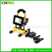 Bewegliche 10W COB Art Super helle LED-Arbeits-Licht-nachladbare Flut-Lampe