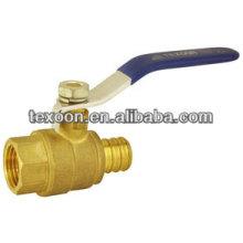 lead free Pex full port brass ball valves PEX*FIP CUPC
