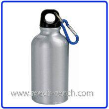 Sport-Flasche Aluminium Trinkflasche mit Karabiner (R-4027)