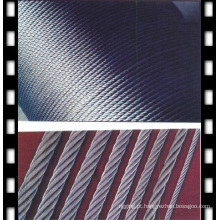 Corda de arame galvanizada 6X12 + 7FC
