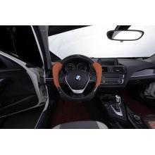Special  Carbon artificial leather steering wheel wrap