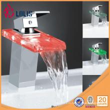 Стеклянный смеситель из латуни с водяным краном (YL-8009)