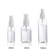 Wholesale Factory Price 50ml Alcohol Spray Bottle Mist Plastic Spray Bottle