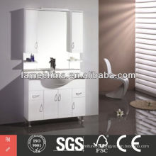 Latest small size wall mounted corner bathroom cabinet
