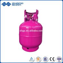 Remplissage vertical de bouteille de gaz LPG de haute performance 9KG