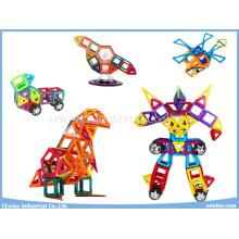 168 STÜCKE DIY Magnetische Puzzle Spielzeug Weisheit Lernspielzeug für Kinder