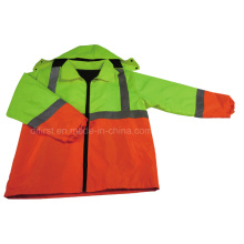 Hohe Sichtbarkeit Parka Coat (DPA023)
