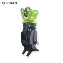CE certificado PC40 Mini excavadora giratoria hidráulica registro de la garra
